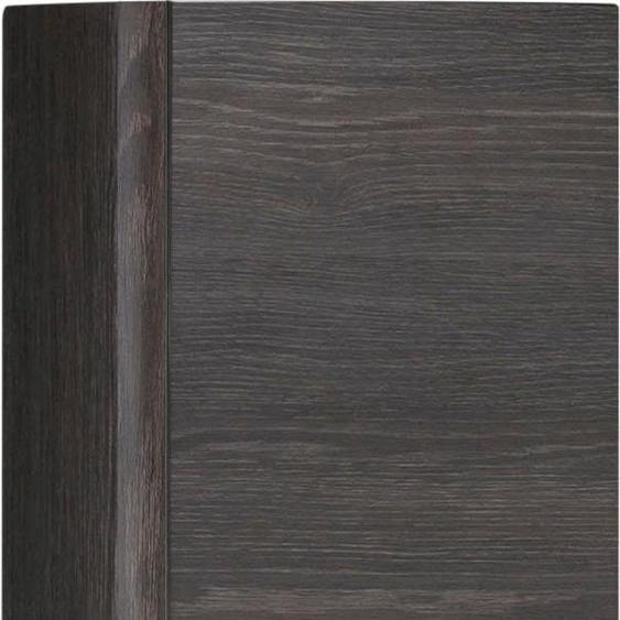 MARLIN Midischrank 3010.1 20 x 147 17,5 (B H T) cm, 1-türig braun Bad-Midischränke Badmöbel Schränke
