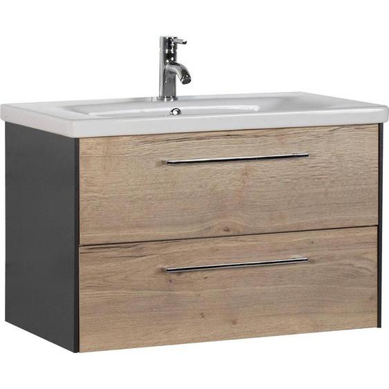 MARLIN Waschtisch, 3400 Einheitsgröße beige Waschtische Badmöbel