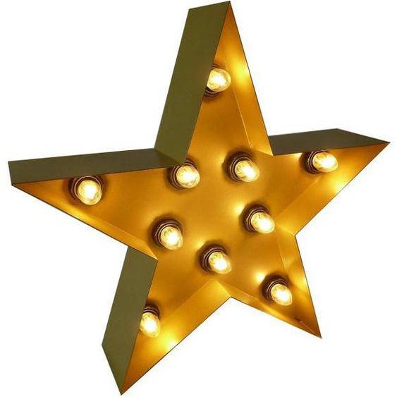 MARQUEE LIGHTS LED Dekolicht »Stern«, Wandlampe, Tischlampe ohne Leuchtmittel, Star