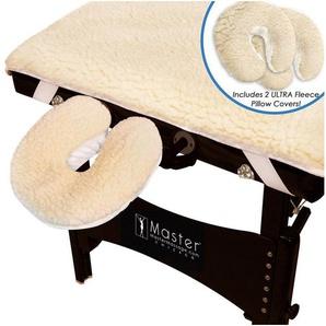Massageliegenbezug »Ultra Fleece Bezug Überzug für Massageliege Massagebank mit Kopfkissen-Überzüge«, Master Massage