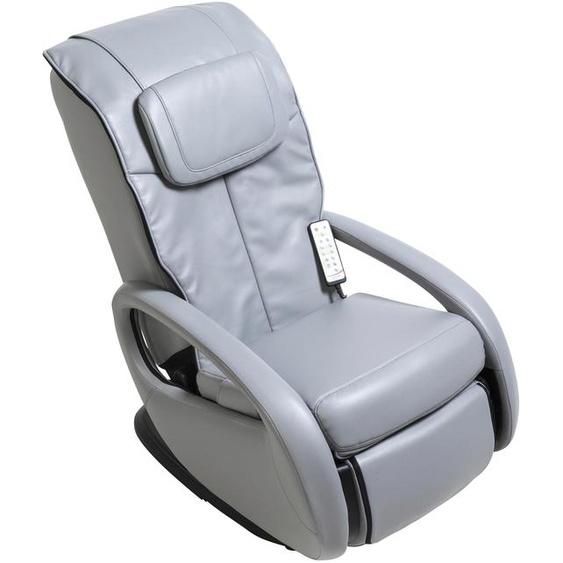 Massagesessel, 68x107x103 cm (BxHxT), Alpha Techno, grau, Material Kunstleder, mit Rückenverstellung