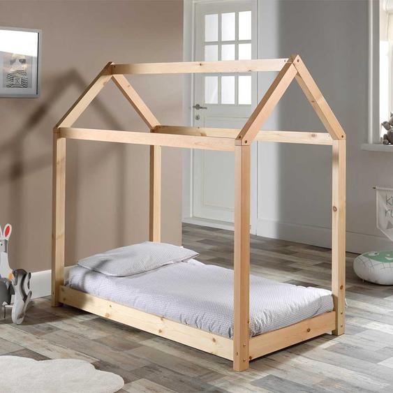 Massivholz Kinderbett im Haus Design Kiefer lackiert