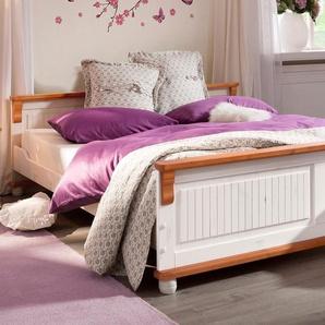 Home affaire Bett »Adele«, weiß, 140/200 cm, FSC®-zertifiziert