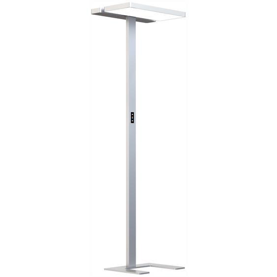 MASTER | LED Stehleuchte - Lampe Weissaluminium