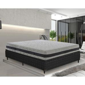 Memory foam Matratze 190x200 Memoryschaum Höhe 23 cm mit 5 Schichten und abziebahren Bezug - MATERASSIEDOGHE