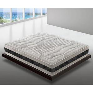 28 cm hohe Memory Foam Matratze 200x200 - 11 Zonen - 5 cm Memory-Schaum - MATERASSIEDOGHE