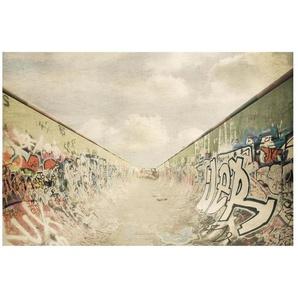 Matt Fototapete Graffiti-Skatepark 2,55 m x 384 cm