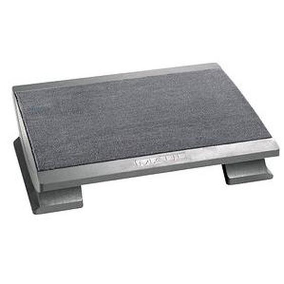 MAUL Fußstütze Komfortabel grau Kunststoff