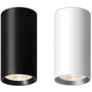 Mawa Design - Seventies 23 Aufbaustrahler - pulverbesch. weiß matt