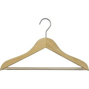 MAWA Kleiderbügel »Classic 41/RFS«, (Set, 10-tlg), aus Eschenholz, gewachst