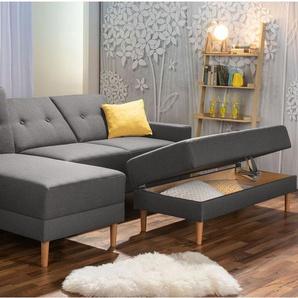 MAX WINZER Funktionssofa Just Cool inkl. Hocker Couch Wohnlandschaft Ecksofa Sofa
