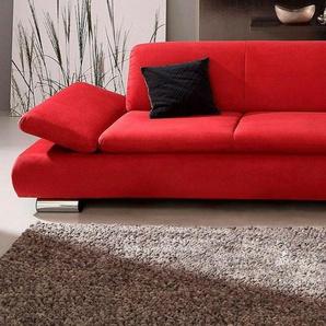 Max Winzer® 2,5-Sitzer Sofa »Toulouse« mit klappbaren Armlehnen, Breite 224 cm