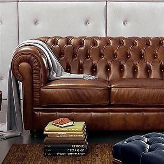 Max Winzer® 2-Sitzer »Kent«, im Retrolook, mit edler Knopfheftung