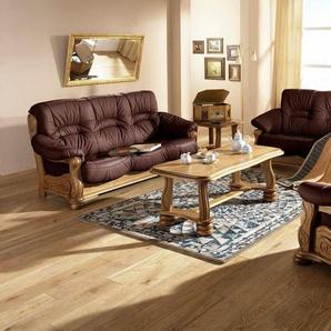 Max Winzer® 2-Sitzer Sofa »Texas«, mit dekorativem Holzgestell, Breite 147 cm