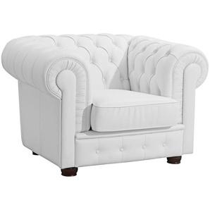 Max Winzer® Chesterfield-Sessel »Windsor«, mit edler Knopfheftung