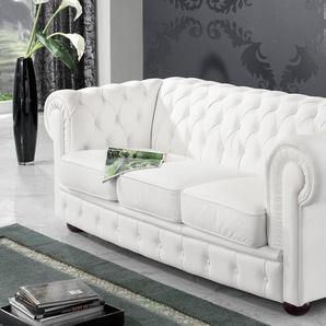 Max Winzer® Sofa »Windsor«, mit edler Knopfheftung, 2-Sitzer oder 3-Sitzer