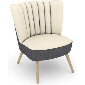 Max Winzer® Sessel »Aspen«, im Retrolook, zum Selbstgestalten