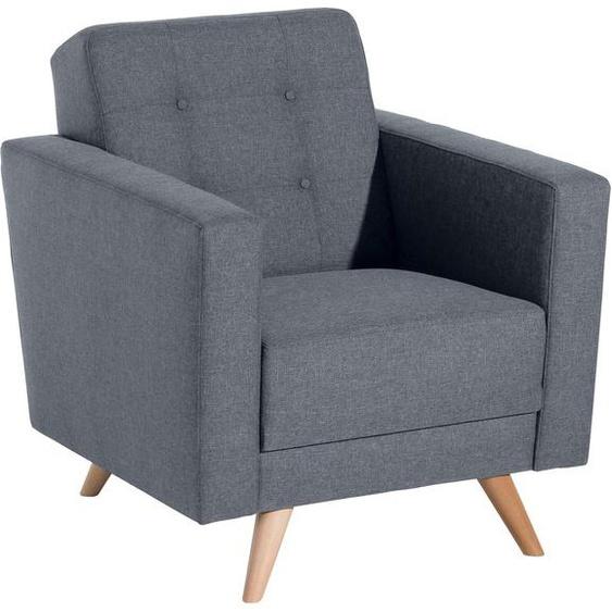 Max Winzer® Sessel »Julius«, mit Knopfheftung