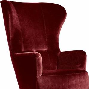 Max Winzer® Hochlehner Sessel »Liana« im Retrostil, mit Knopfheftung
