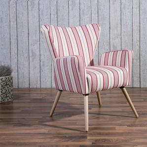 Max Winzer® Sessel »Lodi«, im Retrodesign