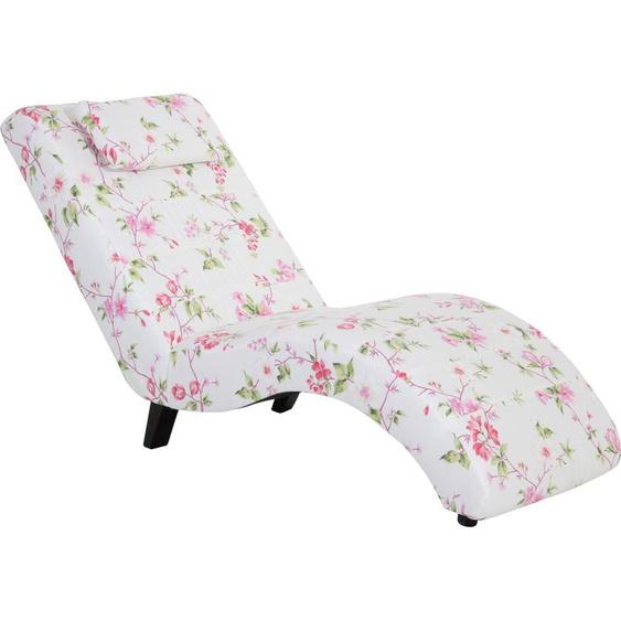 Max Winzer Relaxliege Nova, inklusive Nackenkissen, mit Blumenmuster B/H/T: 65 cm x 84 163 cm, Flachgewebe 20715 bunt Relaxliegen Sessel