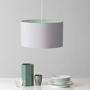 May Lampenschirm (45 cm), Pastellgruen und Grau