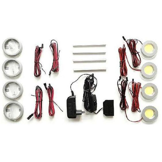 MCA Beleuchtung LED Power Spot 4er Set
