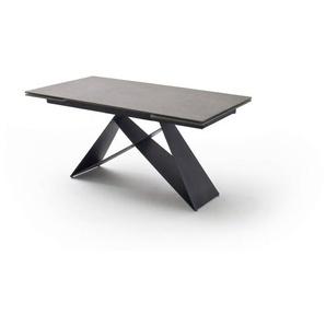 MCA Esstisch mit Auszug Esstisch mit Auszug, Anthrazit, Keramik
