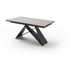MCA Esstisch mit Auszug Esstisch mit Auszug, grau, Keramik