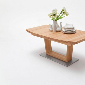 MCA furniture Esstisch »Cantania B«, Massivholztisch mit Auszugsfunktion