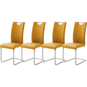 MCA furniture Freischwinger »Paulo« 4er-Set
