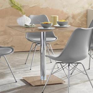 MCA furniture Säulen-Esstisch, Breite 80 cm