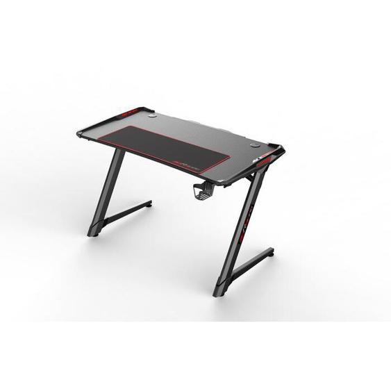 MCA Schreibtisch, Schwarz, Kunststoff