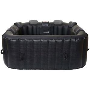 MCW Whirlpool »MCW-E32-P-6«, (6-tlg), 140 Luftdüsen, Heizfunktion bis 40°C, inkl. Abdeckung, Filterwechsel-Alarm, aufblasbar, 6 Personen