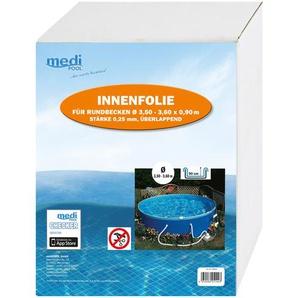Medi Pool Innenfolie für Pools Ø 360 x 90 cm