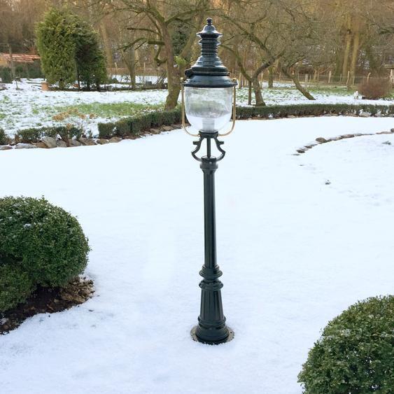 Mediterrane Gartenleuchte Parklampe Aussenleuchte Stillampe Garten - H.158 cm