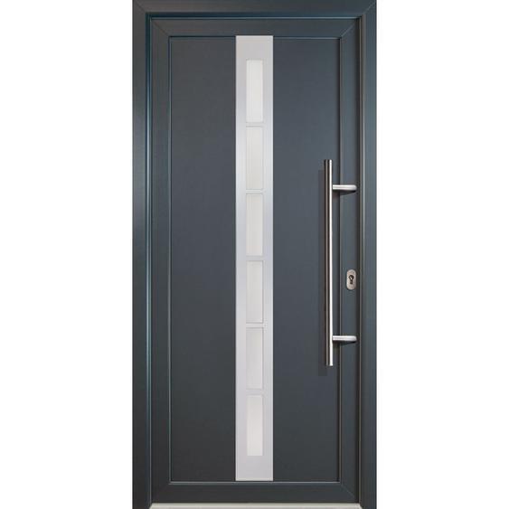 JM Signum Aluminium Model 38, innen: titan, außen: titan, Breite: 108cm, Höhe: 208cm, Öffnungsrichtung: DIN rechts - MEETH