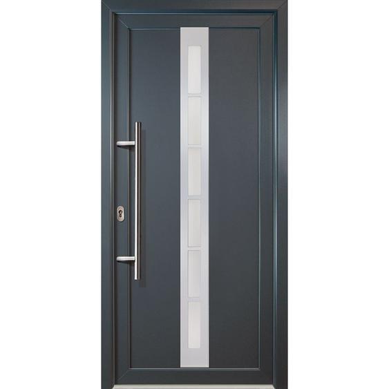 Meeth - JM Signum Aluminium Model 38, innen: titan, außen: titan, Breite: 98cm, Höhe: 208cm, Öffnungsrichtung: DIN links