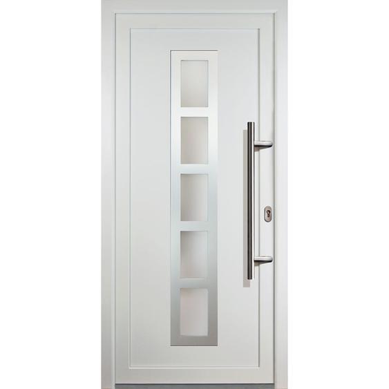 Meeth - JM Signum PVC Model 51, innen: weiß, außen: weiß, Breite: 98cm, Höhe: 208cm, Öffnungsrichtung: DIN rechts
