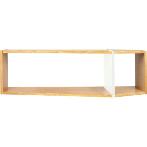 Mehrzweckregal »One«, 120x35x40 cm (BxHxT), TemaHome, beige, Material MDF, Spanplatte, Holz, lackiert