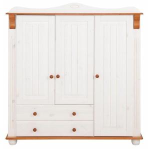 Home affaire Mehrzweckschrank , weiß, 3-türig, Breite 130 cm, »Adele«, FSC®-zertifiziert