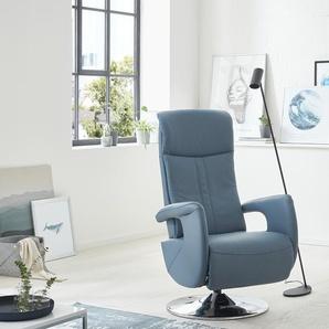 Relaxsessel  Franzi - blau - 71 cm - 110 cm - 83 cm | Möbel Kraft