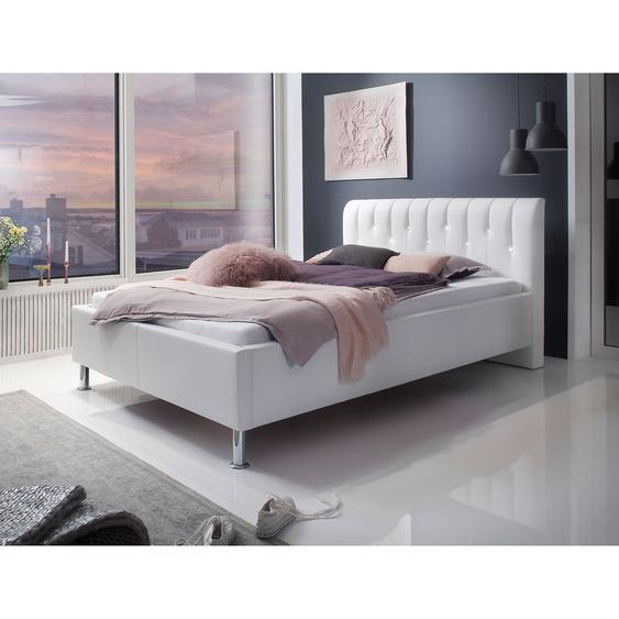 meise.möbel Polsterbett Rapido 140x200 cm Kunstleder Weiß
