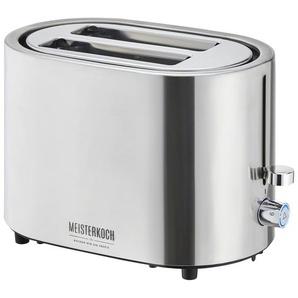 Meisterkoch Toaster  TO-1006E ¦ silber ¦ Edelstahl
