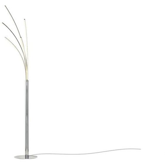 Meisterleuchten LED-Bogenleuchte, 5-flammig, chrom ¦ silber