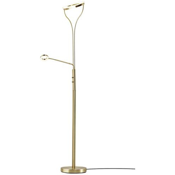 Meisterleuchten LED-Deckenfluter, 2-flammig, messing-matt ¦ gold