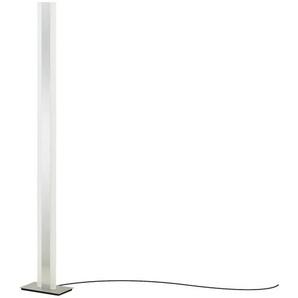 Meisterleuchten LED-Stehleuchte, mit Gestensteuerung ¦ silber ¦ Maße (cm): B: 14 H: 140