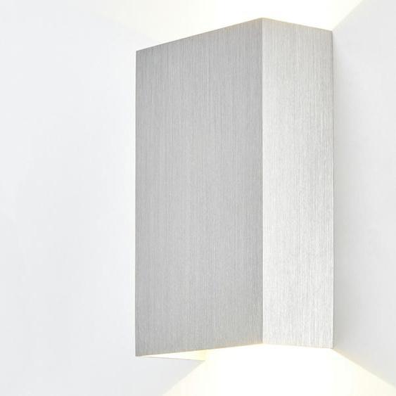 Meisterleuchten LED-Wandleuchte, 2-flammig Nickel matt ¦ silber