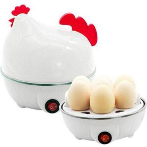 melysEU Chick Shaped Gekochtes Ei Steamer Mikrowelle Eierkocher Steamer Kochgeschirr KueCHEN Tools Zubehör Werkzeuge (Chick-shaped Weiß)
