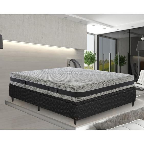 Memory foam Matratze 180x200 Memoryschaum Hhe 23 cm mit 5 Schichten und abziebahren Bezug